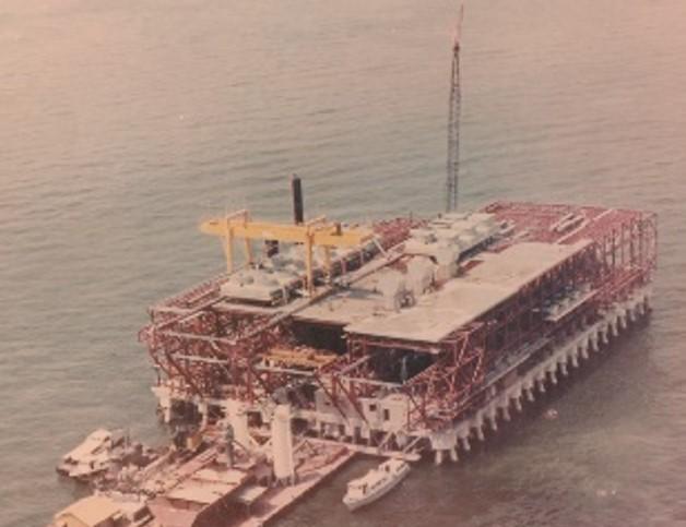 Lama Gas Compression Plant for Sun Oil Co, Maracaibo Lake